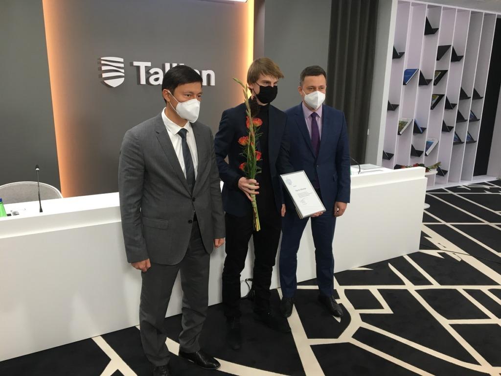 TALLINN TUNNUSTAB I Tallinn tunnustas edukalt võistelnud sportlasi
