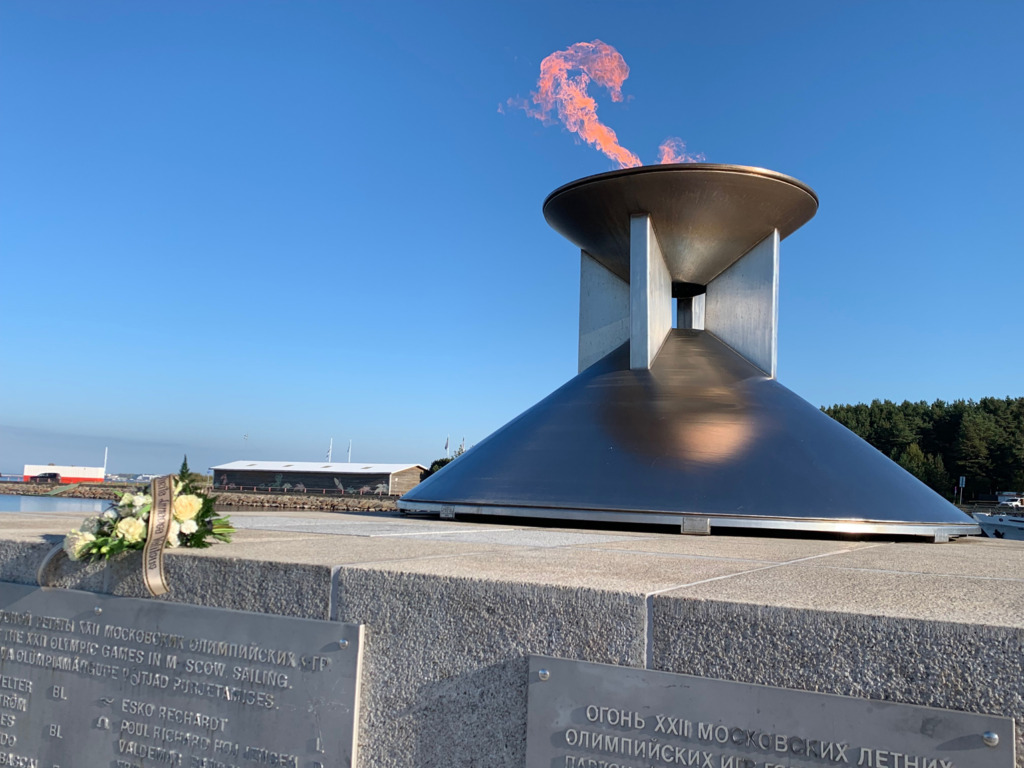 Pirital põles Jüri Tamme mälestuseks olümpiatuli